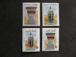 Emmissions Communes 2001: TB Paires Des N° 3441/3442 + Maroc N° 1298/1299, Neufs XX. - Neufs