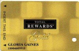 STATI UNITI  KEY CASINO  Total Rewards Gold @2009 - Casino Cards