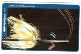 TESSERA  A SCALARE VIACARD -FIBRE OTTICHE - 50.000 ( VIACARD ) - Italië