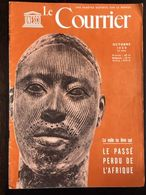 Unesco Le Courrier Octobre 1959 Voir Table Des Matieres Le Passé De L'afrique Bénin Zimbaboué Tombouctou - General Issues