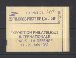 FRANCE.  YT   Carnet  N° 2101 C2  Neuf ** - Carnets