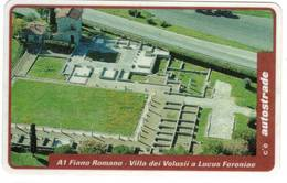 TESSERA  A SCALARE VIACARD -FIANO ROMANO - 50.000 ( VIACARD ) - Italië