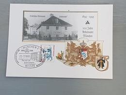 100 Jahre Arbeitsamt München 1995, Sonderkarte/Stempel; H16 - [7] République Fédérale