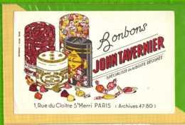 Buvard & Blotting Paper : Bonbons JOHN TAVERNIER Specialiste De La Boite Decorée - Cake & Candy