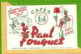 Buvard & Blotting Paper : Café PAUL FOUQUET - Café & Thé