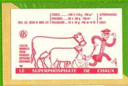 Buvard & Blotting Paper : Le Superphosphate De Chaux Mouton Vache Poule - Farm