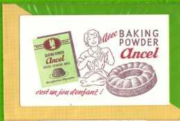 Buvard & Blotting Paper : Baking Powder ANCEL - Cake & Candy