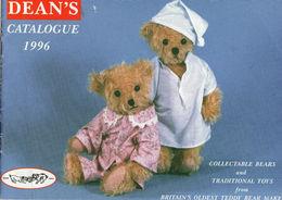 DEAN'S Catalogue De Nounours 1996 Collection D'ours Anglais - 19 Pages - Ours
