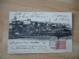 Parthenay 1904 Vue Generale - Parthenay