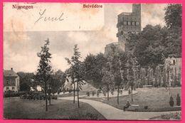 Nijmegen - Belvédère - Animée - Oblit. Ovale A 261 - 1903 - Nijmegen