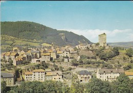 48----CHANAC--vue Générale--le Vieux Château-hôtel Des Voyageurs ARNAL Propriétaire--station Climatique--voir  2 Scans - Chanac