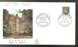 FDC 1964 GUERET - FDC