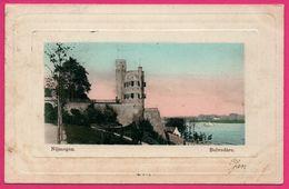 Cp Embossed - Nijmegen - Belvédère - The Wall - Edit. J.H. SCHAEFER - 1903 - Nijmegen