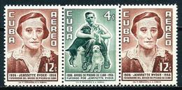 Cuba Nº Aéreo-103a (tríptico) Nuevo - Luchtpost