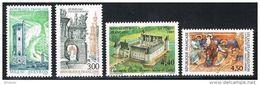 """FR YT 3079 à 3082 """" Série Touristique """" 1997 Neuf** - France"""