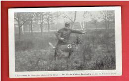GUERRE 1914 1918 WWI SOCIETE NATIONALE DU CHIEN SANITAIRE LANCEMENT DU CHIEN CROIX ROUGE CARTE EN TRES BON ETAT - Guerre 1914-18
