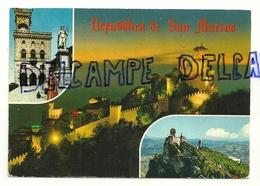 Repubblica Di San Marino 1973. Carte Mosaïque. Rotalcolor - Saint-Marin