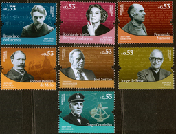 2019 7v Portugal Figures In Portuguese History And Culture MNH ** - 1910-... Republik