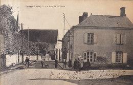 45 LOURY :   Rue De La Poste       /// REF  MARS .19 ///   BO. 45 - France