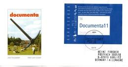 """BRD Schmuck-FDC: """"11. Dokumenta Kassel"""", Mi.Block 58 ESSt 2.5.2002 BONN - [7] République Fédérale"""