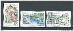 """FR YT 2763 à 2765 """" Série Touristique """" 1992 Neuf** - France"""