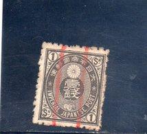 JAPON 1876-7 O - Usados