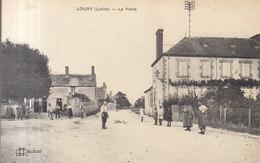 45 LOURY :   La Poste      /// REF  MARS .19 ///   BO. 45 - France