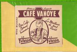 Buvard & Blotting Paper : CAFE VANOYE Le Fervan - Café & Thé