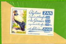 Buvard & Blotting Paper : Reglisse ZAN Vautour Papa - Cake & Candy