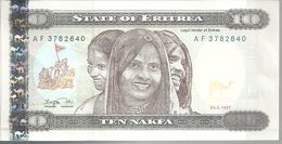 ERYTHREE 10 NAFKA 1997 UNC P 3 - Erythrée