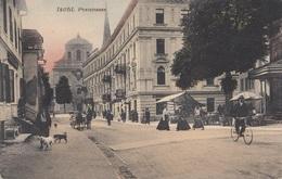 ISCHL (OÖ) - Poststrasse, Karte Um 1915, Gute Erhaltung, Leicht Fleckig - Sonstige