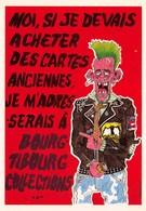 Fabien MOREAU - Bourg Tibourg Collections - Négociant En Cartes Postales - Signé Par L'artiste - Autographe - Punk - Autres Illustrateurs