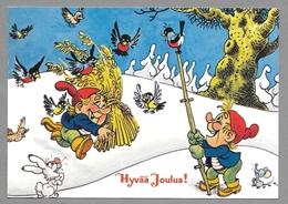 Mouse Elf Elves Bullfinches Birds Souris Lutin Bouvreuil Maus Zwerg Gimbel - Used - Noël