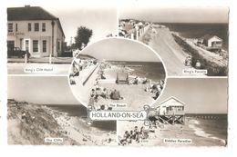 RP HOLLAND ON SEA MULTIVIEW BEACH HUTS ETC UNUSED - England