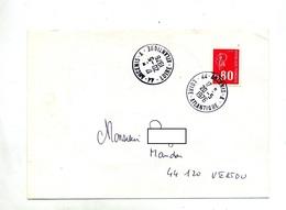 Lettre Cachet Ancenis A - Marcophilie (Lettres)
