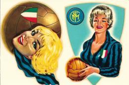 Decalcomania Originale D'Epoca Anni '60 Inter Donna-Scudetto - Football