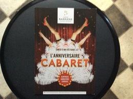 PROGRAMME CASINO   L'Anniversaire Cabaret - Programma's