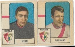 2 FIGURINE MANTOVA NANNINA ANNI '60 - Calcio