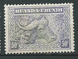 Ruanda - Urandi       - Yvert N° 96 *   -  Bce 15827 - Ruanda-Urundi