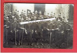 GUERRE 1914 1918 WWI GROUPE DE CUIRASSIERS CARTE PHOTO EN BON ETAT - Guerre, Militaire
