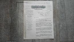 Document Commercial Manufacture D'articles De Pêche Gustave Bouriant Cannes Moulinets 1951 Facture - France