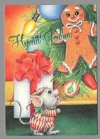 Dressed Mouse Gingerbread Souris Pain D'épice Maus Pfefferkuchen - Used - Noël