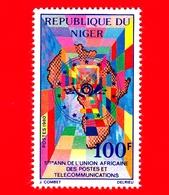 Nuovo - MNH - NIGER  - 1980 - Quinto Anniversario Dell'Unione Africana Delle Poste E Telecomunicazioni - 100 - Niger (1960-...)