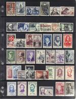 France 1956 : Année Complète Oblitérée, 41 Timbres, Cote 108 €. - France