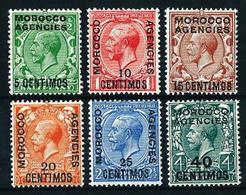 Marruecos Inglés (zona I) Nº 49/54 Nuevo* - Bureaux Au Maroc / Tanger (...-1958)