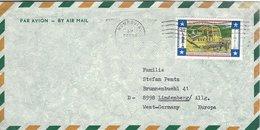 Liberia . Cover Sent Germany. # 598 # - Liberia