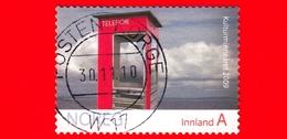 NORVEGIA - Usato - 2009 - Telecomunicazioni - Telefonia - Cabina - Cultural Heritage - A Innland - Usati