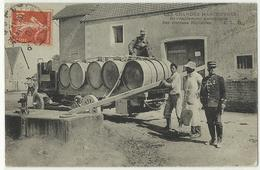 BEAUCHEMIN Les Grandes Manoeuvres De Langres En 1906 CAMION Ravitaillement Citernes, Localisée - Other Municipalities