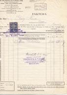 2 RECHNUNGEN Der Fa. SCHÖNFELD & POLLAK Bratislava 1935, A4 Format, Gefaltet - Sonstige