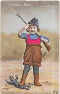 MILITARIA -  GUERRE 1914 - GRAINE DE POILU Comme Papa - BES3/SAL1 - - Patriotic